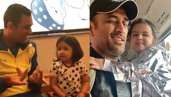 MS Dhoni Asks Ziva Dhoni 'How Are You' In Five Languages, She Can Give You Linguistics Lessons