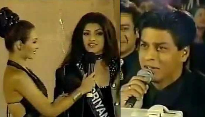 Shah Rukh Khan Asked 17-Year-Old Priyanka Chopra To Marry Him In Miss India, Her Reply Was Epic