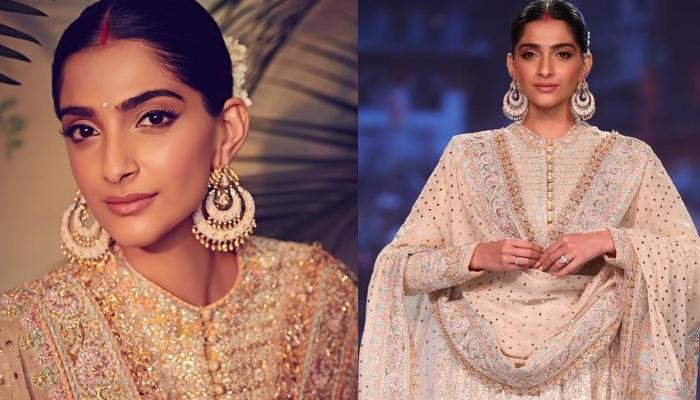 Sonam Kapoor Ahuja Walks The Ramp Sporting 'Sindoor' For The First Time And We Are Mesmerised