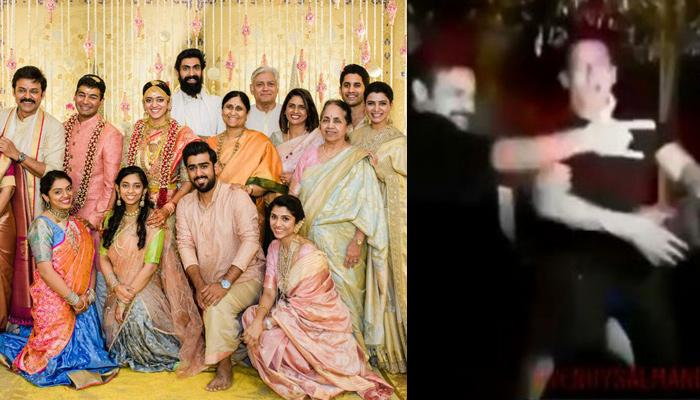Salman Khan Kills It With South Superstar, Venkatesh In 'Jumme Ki Raat' At His Daughter's Wedding