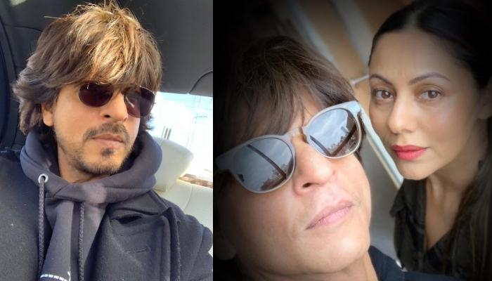 Shah Rukh Khan Posts A Romantic Selfie With Gauri Khan, Says 'Being With You Is Like Being On Stage'