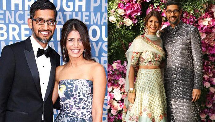 Google CEO Sundar Pichai And His Wife Anjali Pichai's Love Story Proves True Love Always Wins