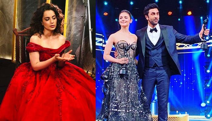 Kangana Ranaut Once Again Takes A Dig At Alia Bhatt And Ranbir Kapoor, Calls It 'Absolutely Unfair'