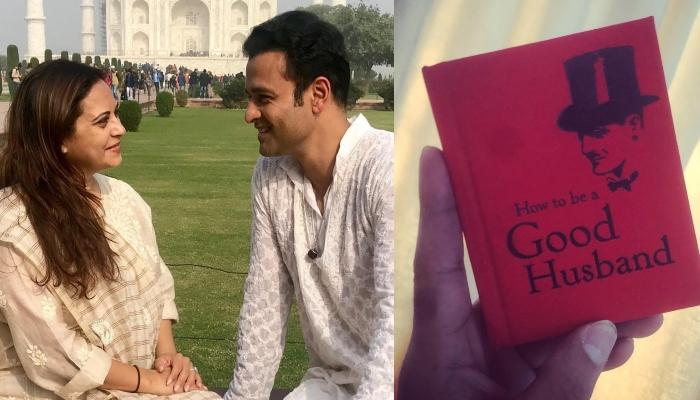 Rohit Roy's Wife, Manasi Joshi Wants Him To Be A Good Husband, Gifts Him Something To Work On It