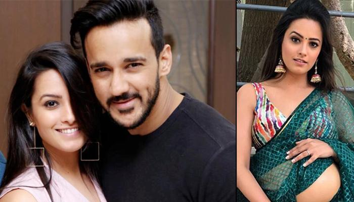 Anita Hassanandani Flaunts Her 'Baby Bump' From Naagin 3 Sets, Hubby Rohit Reddy's Reaction Is Epic