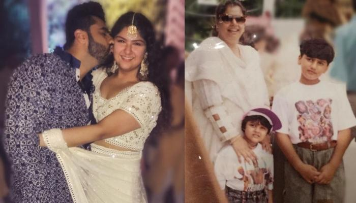 Arjun Kapoor Has A Special Message For His Little Sister, Anshula Kapoor On Siblings Day