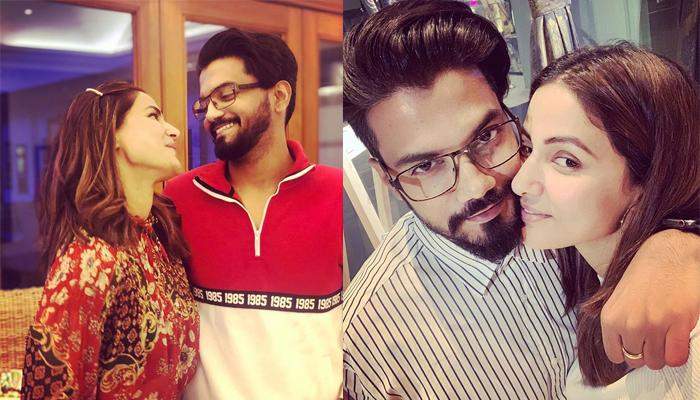 Hina Khan's Beau Rocky Jaiswal Patiently Shopping For Her In London Is Every Girl's Expectations