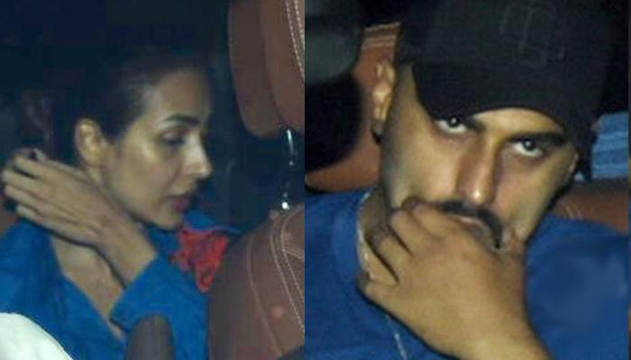 Malaika Arora And Arjun Kapoor Brutally Trolled For Twinning And Arriving Together At A Dinner Bash