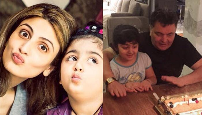 Riddhima Kapoor Sahni Shares Throwback Picture Of Rishi Kapoor With Granddaughter Samara Sahni