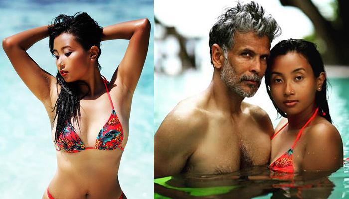Milind Soman's Wife, Ankita Konwar Raises Her Oomph Factor In A Sizzling Bikini, Looks Stunning