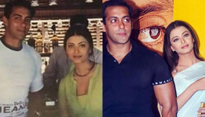 1bfd07d7aebb1 Rare Throwback Picture Of Salman Khan And Aishwarya Rai Happily ...