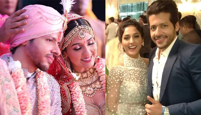 Nihaar Pandya Posts A Hand-In-Hand Picture With Wife Neeti Mohan On Their Second-Month Anniversary