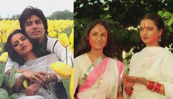 Throwback: When Rekha Indirectly Said Rumoured Flame, Amitabh Bachchan Makes Jaya Bachchan Insecure