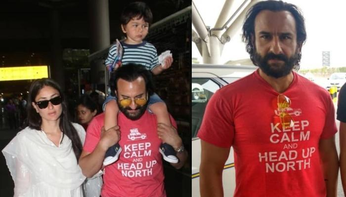 Here Is The Truth Behind Saif Ali Khan Lashing At Paparazzi, Calling The Police To Put A Ban On Them