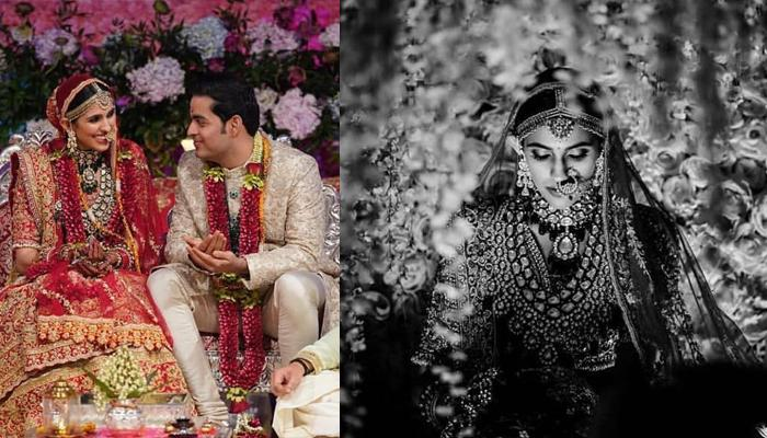 Unseen Picture Of Shloka Mehta's Bridal Avatar From Her Wedding Is Grace Personified