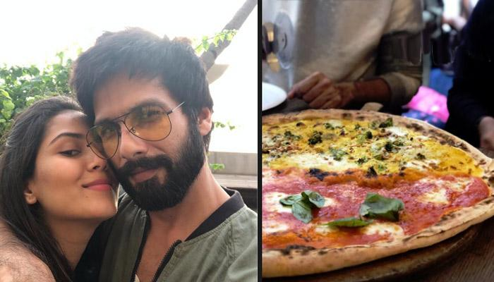 Mira Rajput Kapoor Shares Video Of Shahid Kapoor Binging On Bigg Pizza Is All Of Us On Vacation