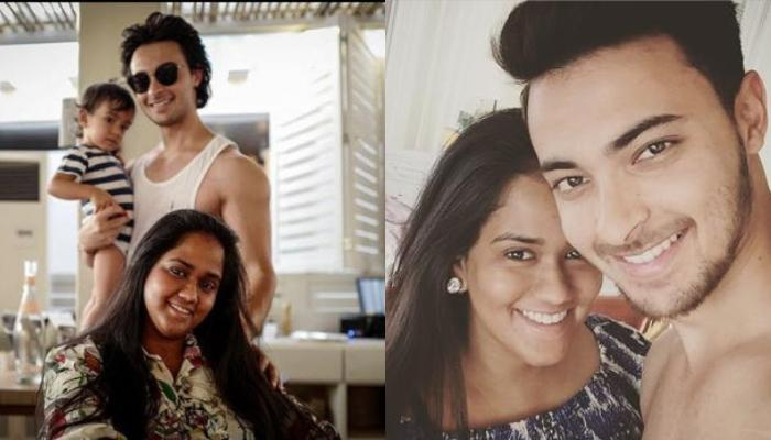 Aayush Sharma Shares The Most Adorable Picture With Arpita And Ahil In One Frame, Picture Inside