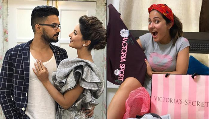Hina Khan's Boyfriend, Rocky Jaiswal Showers Ladylove With Expensive Gifts As He Returns From London