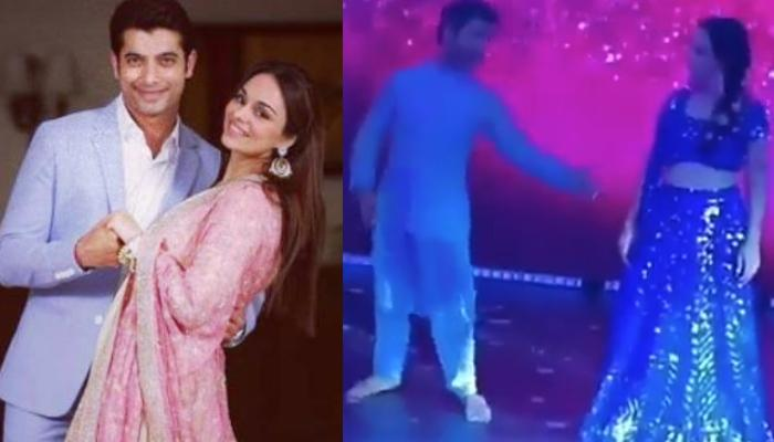 Sharad Malhotra Dances On 'Aankh Marey' With Soon-To-Be-Wife, Ripci Bhatia [Video Inside]