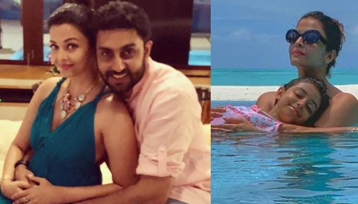 Abhishek Bachchan Shares A Mesmerising Picture Of His Girls, Aishwarya Rai Bachchan And Aaradhya