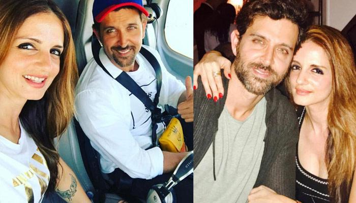 Hrithik Roshan's Ex-Wife Sussanne Khan Writes The Cheesiest Comment Ever On His Workout Video