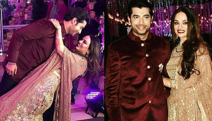 Sharad Malhotra And His Fiancée, Ripci Bhatia Were All 'Rock And Roll' At Their Sangeet Ceremony