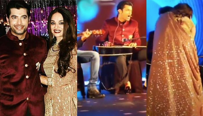 Sharad Malhotra Planned A Sweet Surprise For Ripci Bhatia On Their Sangeet, She Got All Emotional