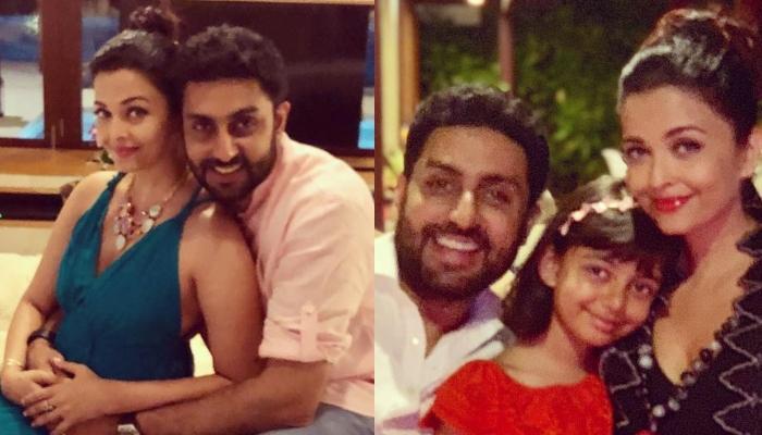 Aishwarya Rai Bachchan Shares A Happy Family Picture With Abhishek Bachchan And Aaradhya Bachchan