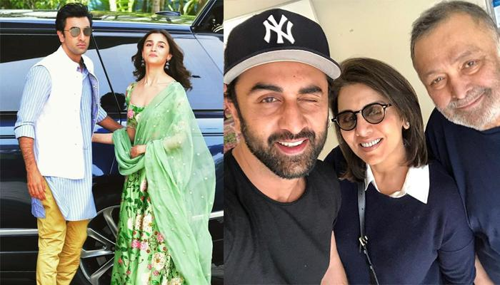 Ranbir And Alia's Plans For Live-In Gets Delayed, 'Sanju' Actor To Move In With Dad, Rishi Kapoor