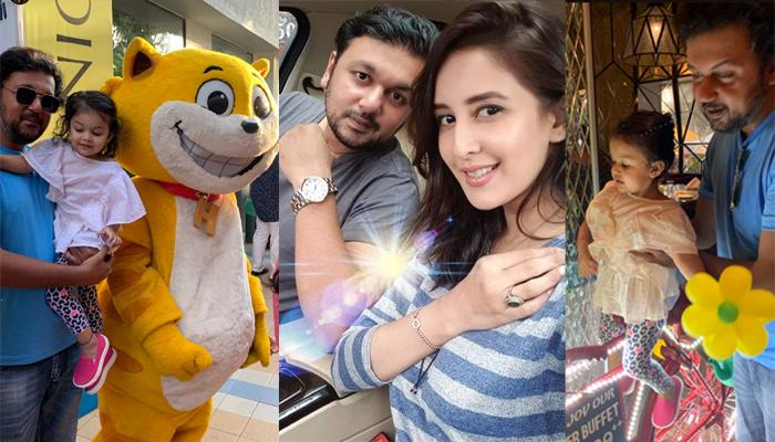 Chahatt Khanna Hangs Out With Her Estranged Husband, Farhan Mirza Along With Their Daughter, Zohar