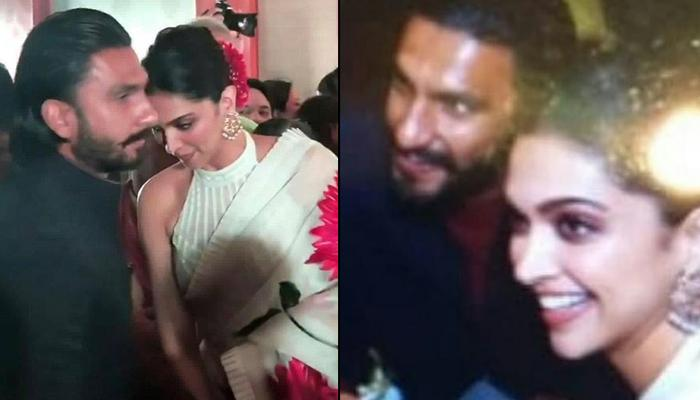Deepika Padukone And Ranveer Singh Attend Her Cousin's Wedding Together And Are A Sight To Behold
