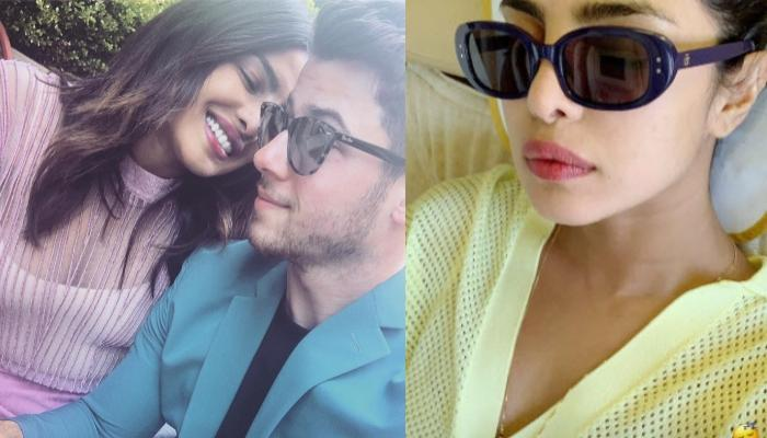 Priyanka Chopra Flaunts Her Unique Mangalsutra Design With Minimal Makeup In Plane Selfie