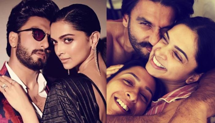 Deepika Padukone Posts A 'Cuddles And Snuggles' Picture With Ranveer Singh And Anisha Padukone