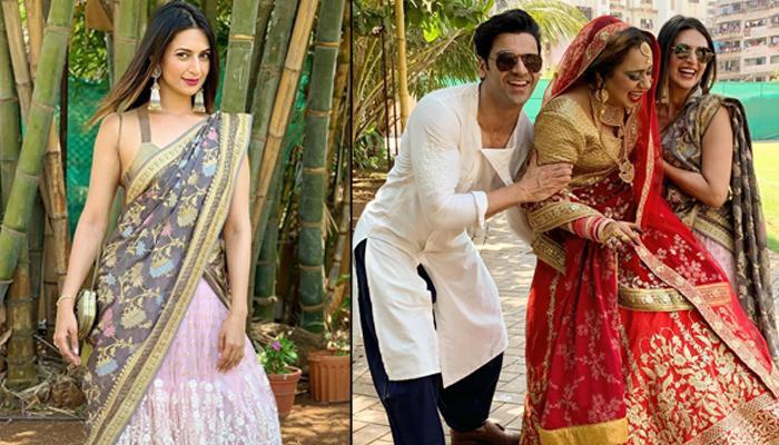 Divyanka Tripathi Dahiya And Her Hubby, Vivek Dahiya Looked Smashing Hot At A Friend's Wedding