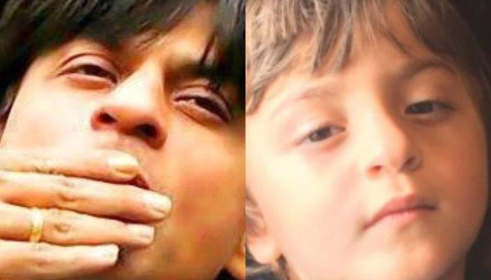 Shah Rukh Khan Shares A Picture With His 'Mini Me' AbRam, We Are Amazed To See Their Resemblance