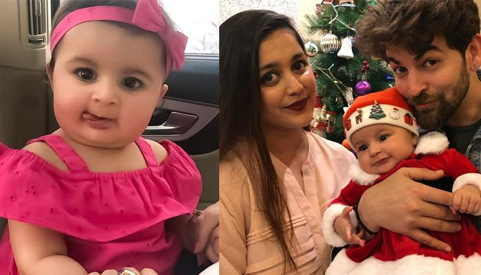 Neil Nitin Mukesh's Daughter, Nurvi Looks Like A Doll In Pink, He Shares A Perfect Family Picture