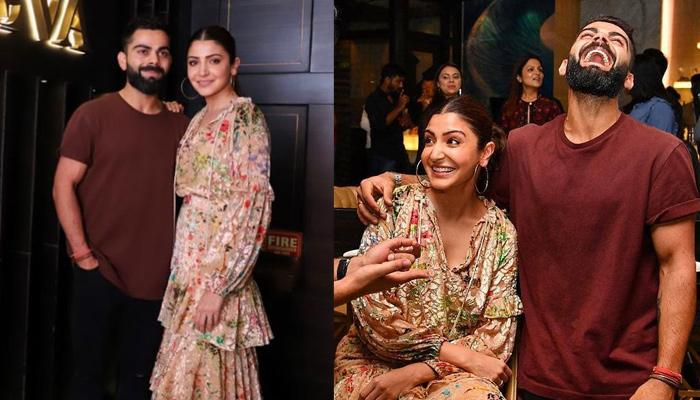 Anushka Sharma And Virat Kohli Party Hard With The RCB Team At His Self-Owned Restaurant, Nueva