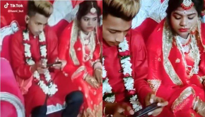 Video Of Groom Ignoring His Bride, Guests And Playing PUBG At His Wedding Is Going Viral On Internet