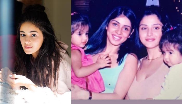 Ananya Panday Shares A Throwback Picture Featuring Bhavana Panday, Maheep And Baby Shanaya Kapoor