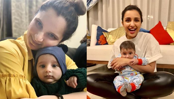 Sania Mirza's Baby Boy Izhaan Mirza Malik Has Found A Khaala (Maasi) In Parineeti Chopra