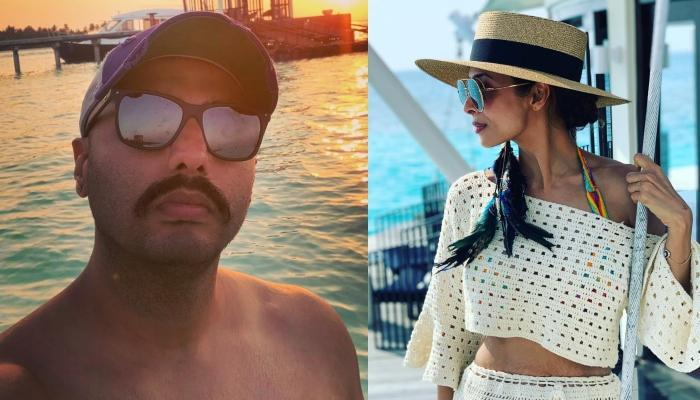 Arjun Kapoor's Latest Pictures Confirm He Was Holidaying In Maldives With Girlfriend, Malaika Arora
