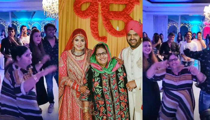 Kapil Sharma's Wife, Ginni Chatrath Dances With Her Saasu-Ma During His 37th Birthday Celebrations