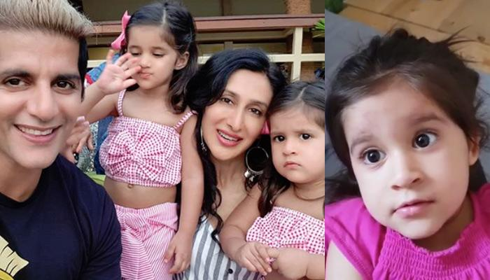 Bella's Lovely Reaction When Teejay Sidhu Tries Hard To Put Her To Sleep, Checkout Video Inside