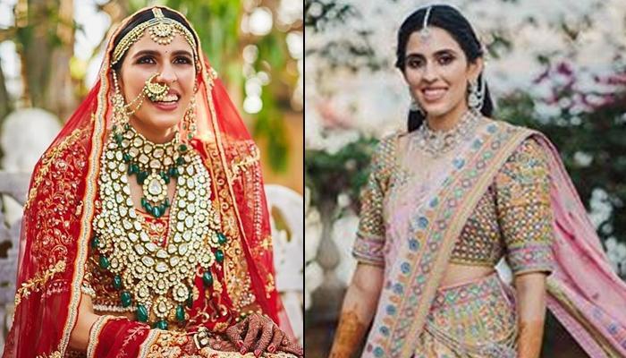 Shloka Mehta Dazzled On Her Mehendi Ceremony In A Heavily Embellished Lehenga, Here's Her First Look