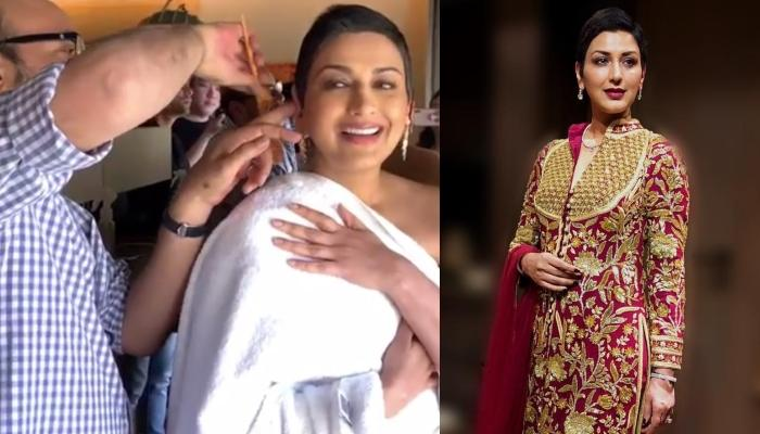 Sonali Bendre Opens Up On Her New Hair Cut Post-Cancer Treatment, Shares Her 'New Normal Makeover'