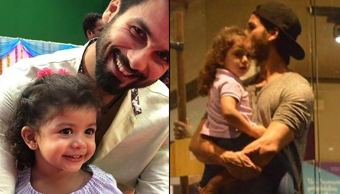 Misha Kapoor Cuddled In Shahid Kapoor's Arms Proves That Two-Year-Old Missy Is Daddy's Little Girl