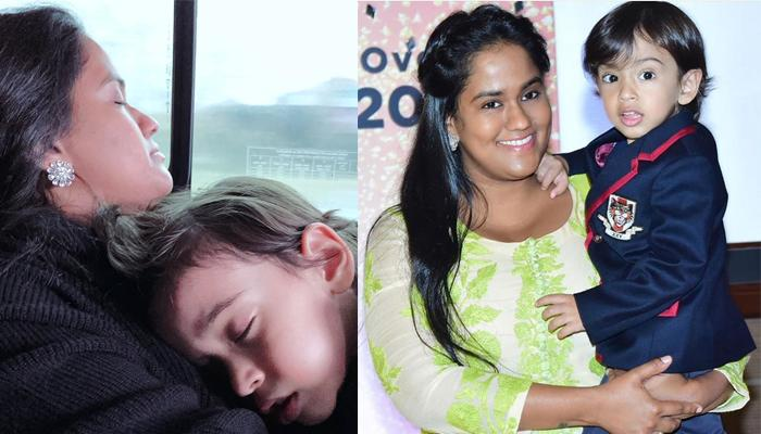 Arpita Khan Protects Her 3-Year-Old Son, Ahil Sharma From A Nasty Troll Who Demeaned Him