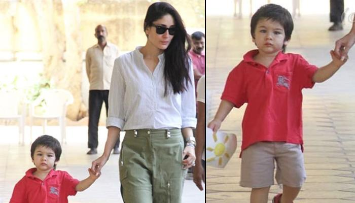 Kareena Kapoor Khan Snapped With Sunshine Taimur Ali Khan, Back On Mommy Duties After Shoot Wraps Up