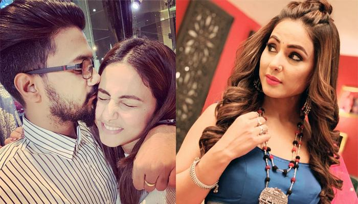 Rocky Jaiswal Sent This To Hina Khan After Learning That Kasautii Zindagii Kay 2 Is The No.1 Serial