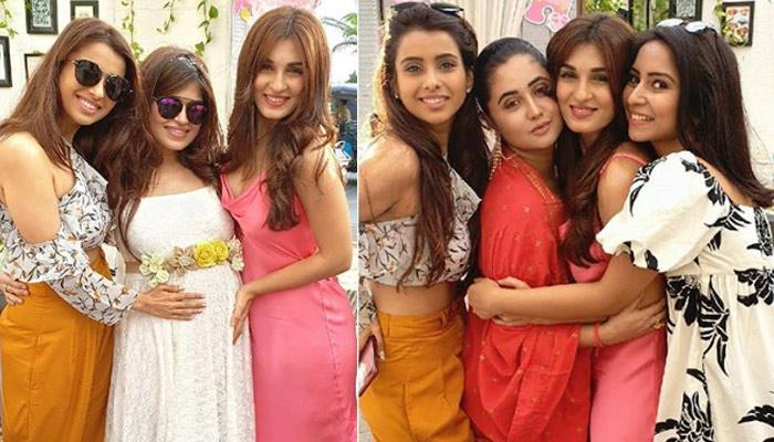 Shiny Doshi Can't Wait To Become Massi, Dazzles In A Slip Dress At Bestie's Baby Shower, Pics Inside